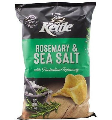 Kettle Sea Salt Rosemary 185g