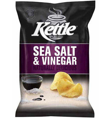 Kettle Chips Sea Salt and Vinegar 185g