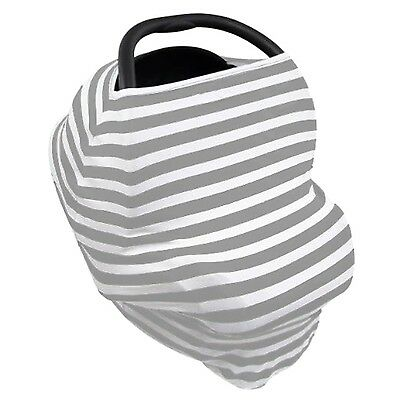 MyM Stretchy Multi-Use Baby Car Seat Cover, Nursing Cover, High Chair Cover, Sho