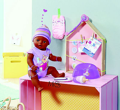 ZAPF CREATIONS Baby Born Interactive Doll Ethnic  *  Brand New  *