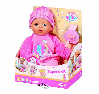 ZAPF CREATIONS My Little Baby Born Supersoft Doll  *  Brand New  *