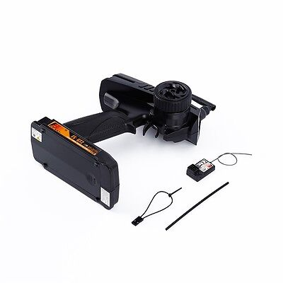FS GT2 2CH 2.4 GHz Radio Remote Control Transmitter and Receiver RC Car Boat #T