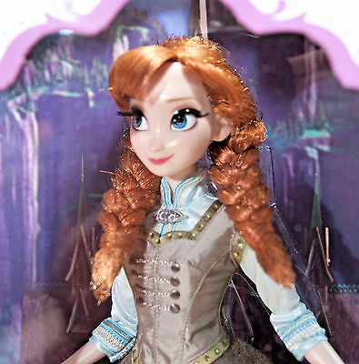 Disney Store Summer Anna Frozen LE Limited Edition Doll - 17''