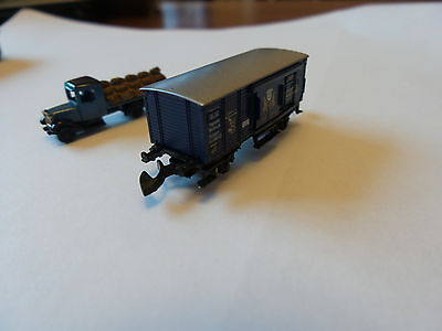 Marklin Museum Wagon And Lorry 2000 In A Presentation Tin