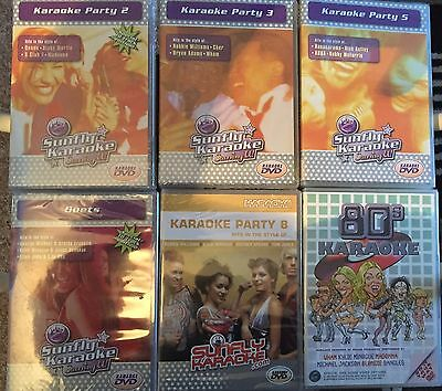 X6 Karaoke DVDs Brand New And Factory Sealed .fast Dispatch