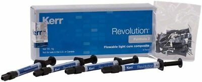 Kerr Revolution Formula 2 A2 - 4 Pack Flowable Composite Original 3-31-2020