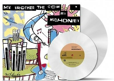 """MUDHONEY My Brother The Cow 180gm WHITE Vinyl LP + 7""""  2014 NEW & SEALED MoV"""