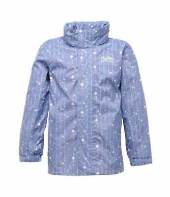 Regatta Bumble Girls Waterproof Breathable Walking Jacket Age 7-8 years