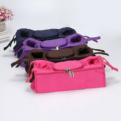 Baby Stroller Organizer Bottle Cup Bag Stroller Accessories Pram Bag Hot