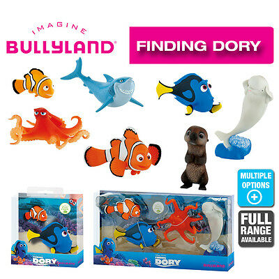 Official Bullyland Disney Finding Dory Figurines Cake Topper Figures to Collect