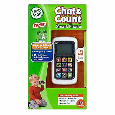 LeapFrog Chat and Count Smart Phone **Brand New**