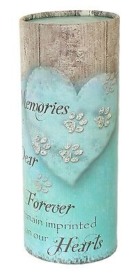 Pet Ashes Scatter Tube Urn Dog/Cat, Biodegradable Cremation Memorial Funeral urn