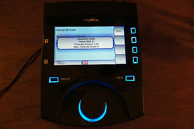Mymix personnal monitor SD recorder