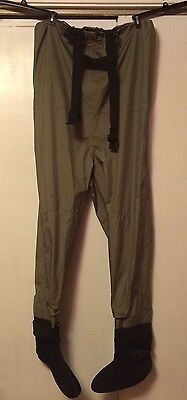 Cabela's Dry Plus Fly Fishing Waders/Overalls Stocking Foot Size XLR-Mint!