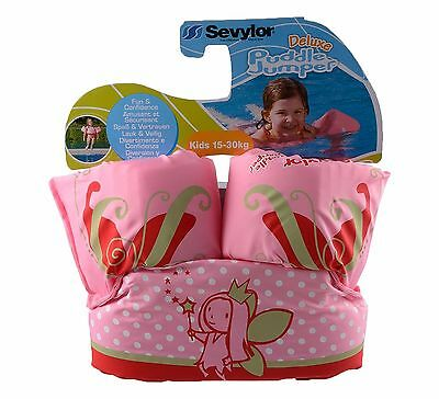Sevylor Deluxe Puddle Jumper Girls Pink Swim Float, Swimming Buoyancy Aid