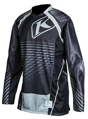 Klim Mojave Dirt Bike Motocross Vented Jersey Md Black Off Road