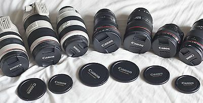 Brand New & Packaged Generic Canon Ef Protective Lens Dust Caps