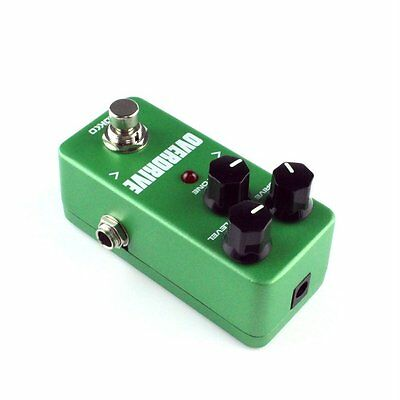 Mini Vintage Overdrive Guitar Effect Pedal Overload Guitar Stompbox FOD3 M0