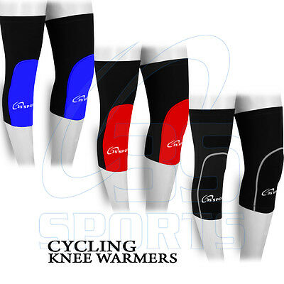 Mens Cycling Winter Knee Warmer Running Thermal Cycle Knee Warmers - S- M- L- XL