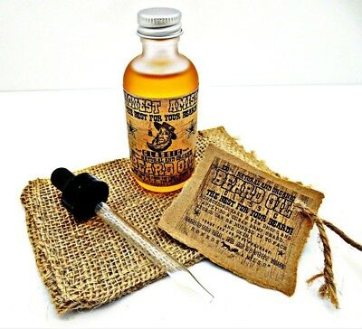 Honest Amish - Classic Beard Oil - 60ml. Delivery is Free