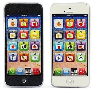 Y-Phone Kid's Learning Toy Phone White Or Black