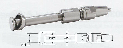 """Swageless Stemball N060-M07, 7mm and 9/32"""" Wire"""