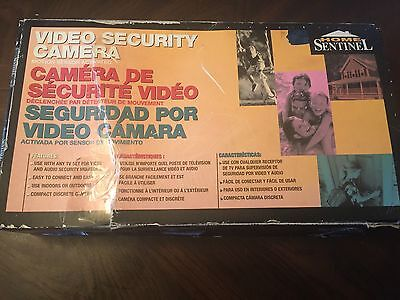 Home Sentinel  video security camera model OS 100 New In Box