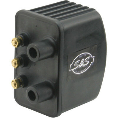 S&s Single Fire Coil High Output For Harley With Electronic Ignition 3 Ohm