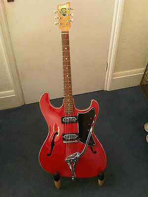 Rare c.1965 Ernani St. George Electric Guitar