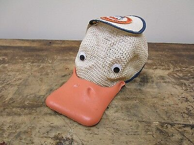 Vintage Donald Duck Walt Disney World Hat Mesh Squeaky
