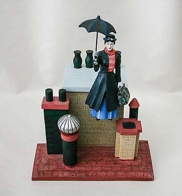 Rare Mary Poppins Watch With Figure : 1990's