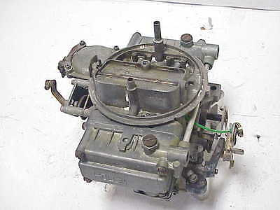 Holley 600 CFM 4 Barrell Carburetor 1850-1 Ratrod Streetrod Hopper Mudbog J43