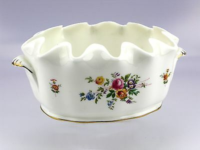 Minton Marlow Fine China Wavy Edged Decorative Glass Cooler Bowl