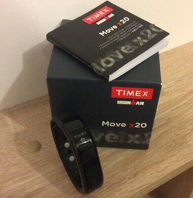 Smartband Timex Ironman Move X20 Activity Tracker monitoraggio attività fisica