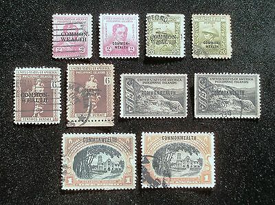 (E51) Philippines Commonwealth period stamps, used