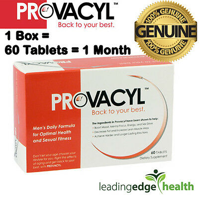 60 X Provacyl Pills Male Testosterone Booster Tablets & 100% Genuine UK Delivery