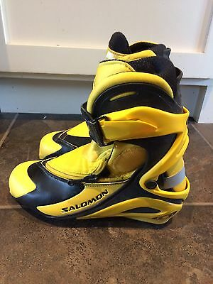 Salomon RS9 SNS Pilot Cross Country Boots Mens - Size 4 US Or Womens 6