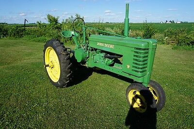 John Deere H Tractor w 2 Extra Front Rims