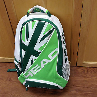 Head Tennis Andy Murray Wimbledon Backpack Limited Edition RARE