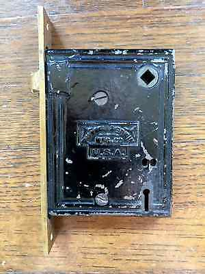 Antique Russell & Erwin Mortise Lock Hardware