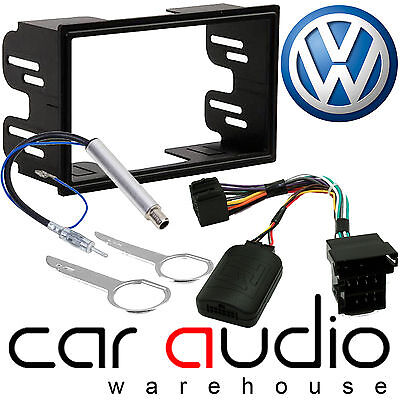 VW Transporter T4 Double Din Car Stereo Fascia Aerial & Steering Wheel Interface