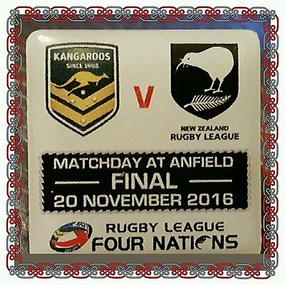 Australia v New Zealand Rugby League Four Nations - Final - 20.11.16 at Anfield