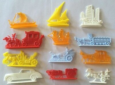 Vintage 1950s Nabisco Shredded Wheat Cereal Parade Of Transportation Premiums