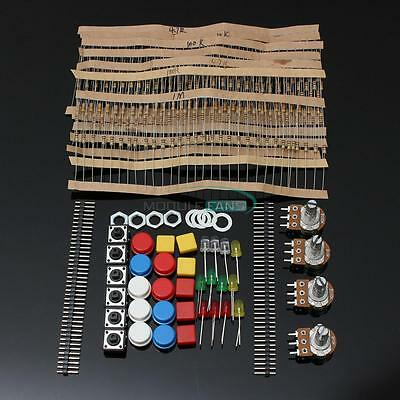 Electronic Parts Pack KIT for ARDUINO Component Switch Button Resistors MF
