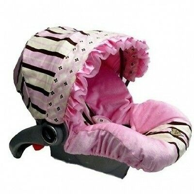 Infant Car Seat Cover with Canopy Colour: Pixie Stix. Brand New
