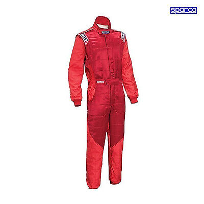Overall Sparco RS-5 rot (Homologation FIA) Größe 60