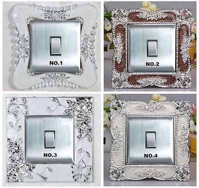 Magnificent Acrylic Single Light Switch Surround Socket Finger Plate Panel Cover
