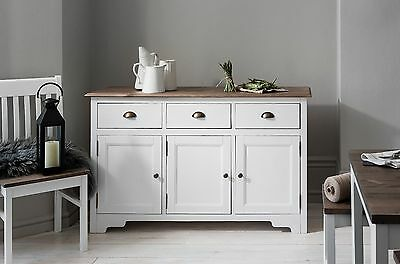 Sideboard Canterbury 3 Drawer with Solid Drawers in Choice of Colours