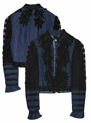 Alicia Keys Worn Anna Sol Jean Jacket w COA from Keys