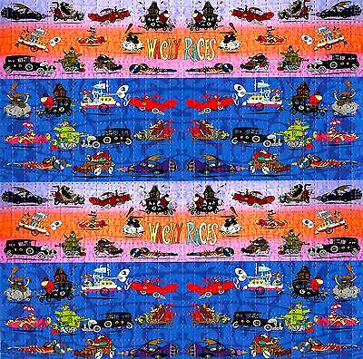 Wacky Races Blotter Art Psychedelic Lsd Acid Free Paper 900 Squares